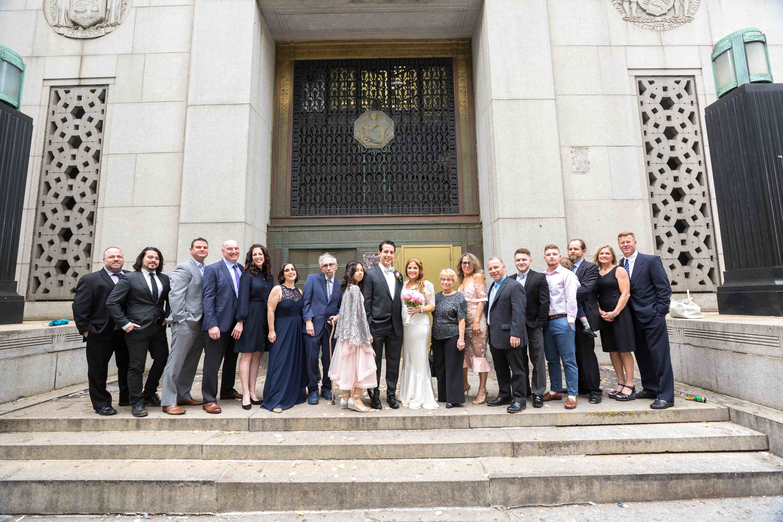 City Hall Upper Story Wedding NYC Photographer