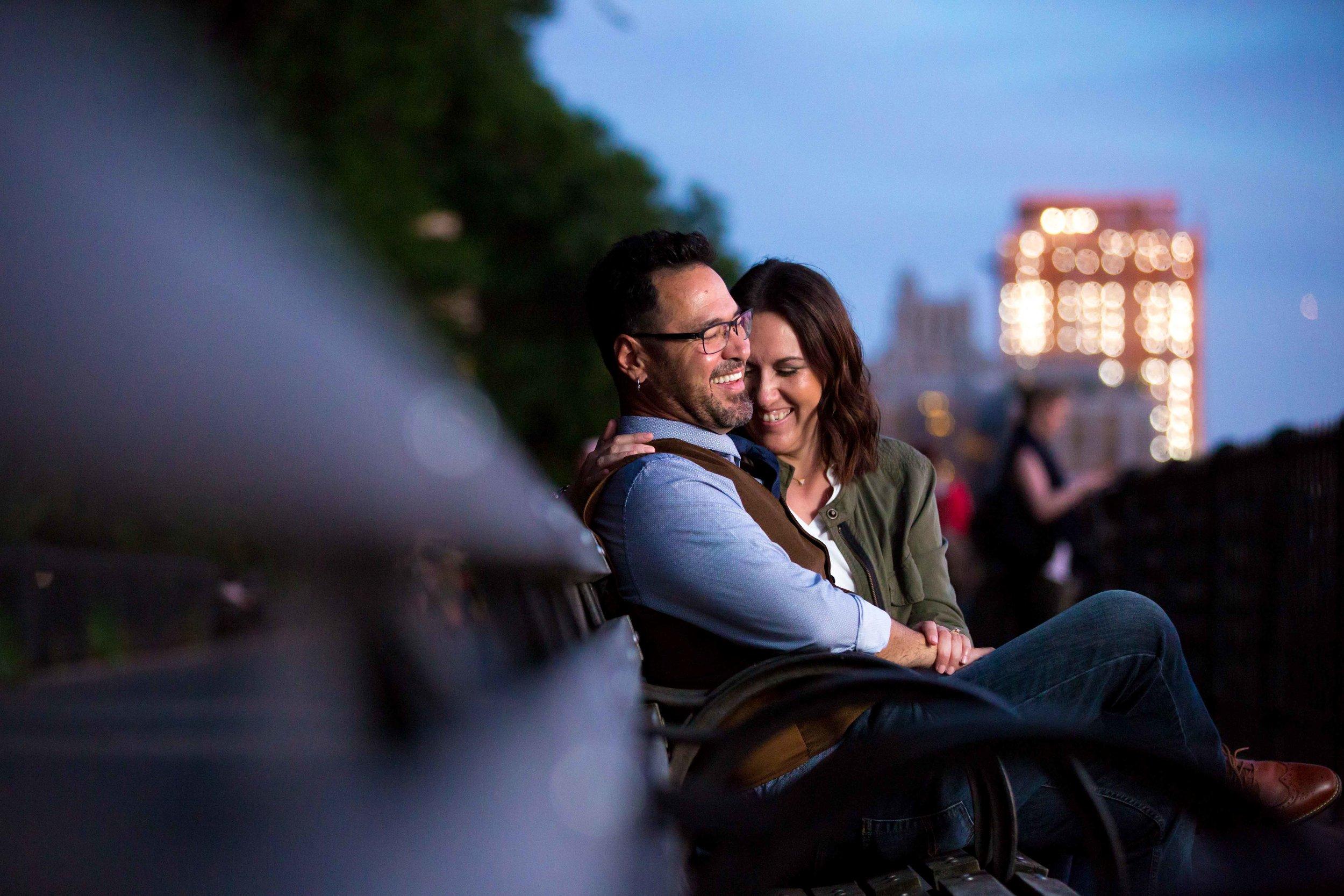 DUMBO Brooklyn Bridge Heights Promenade Anniversary Photo Shoot Session NYC Wedding Photographer-17.jpg