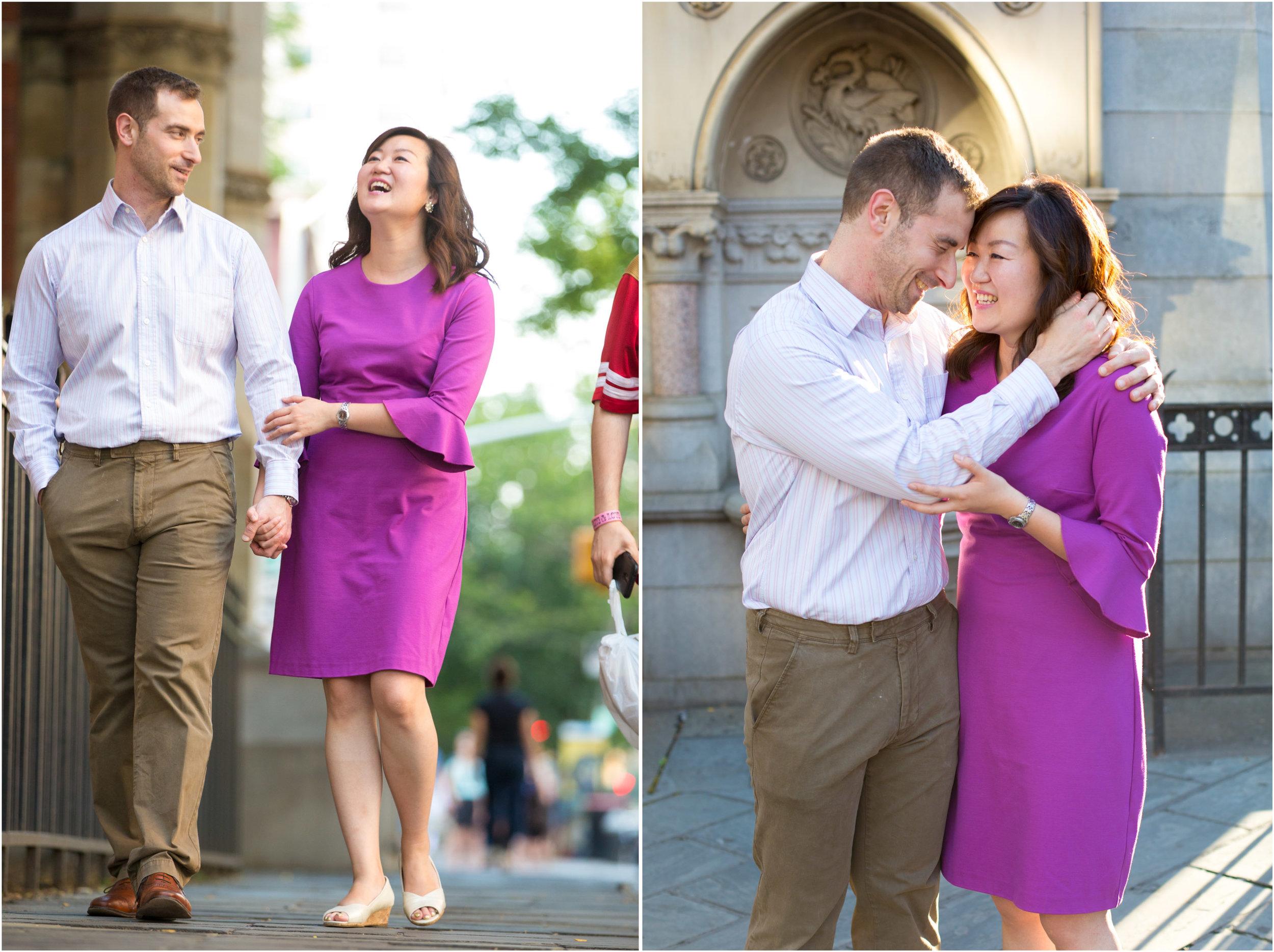 West Village Washington Square Park NYC Marriage Engagement Photo Session Shoot-1.jpg