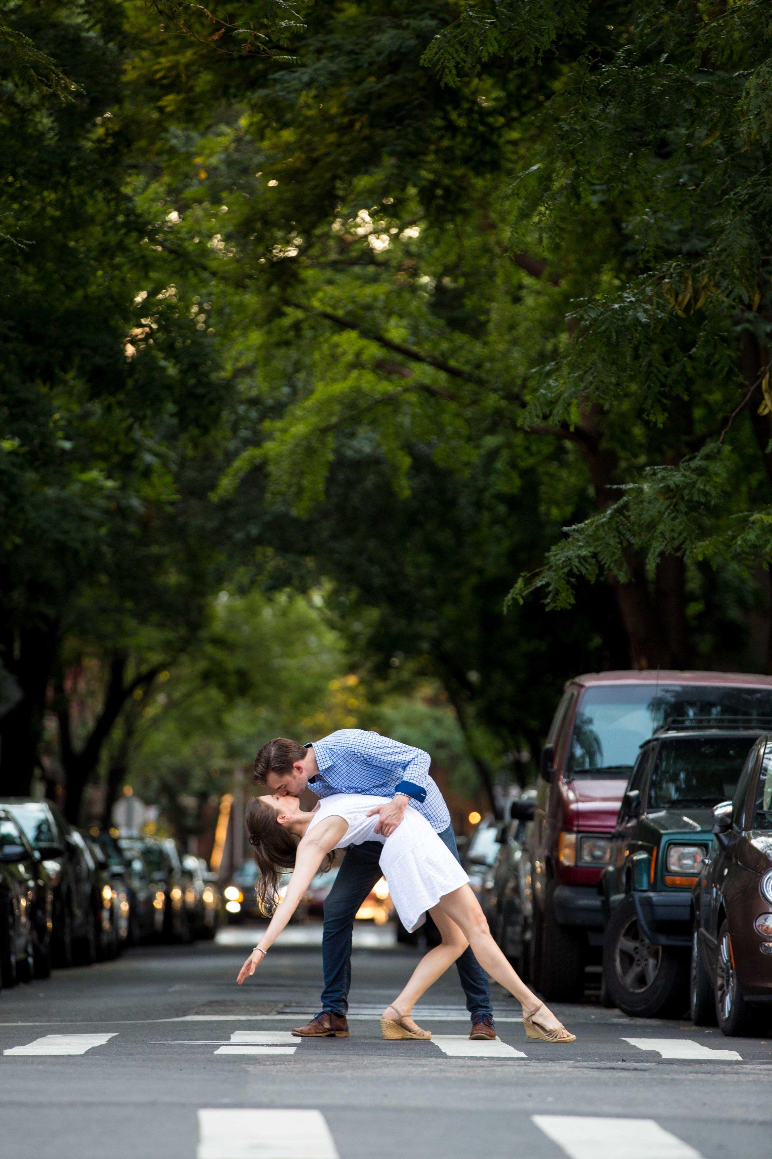 NYC Wedding Photographer Engagement Photos Photo Shoot Session West Village