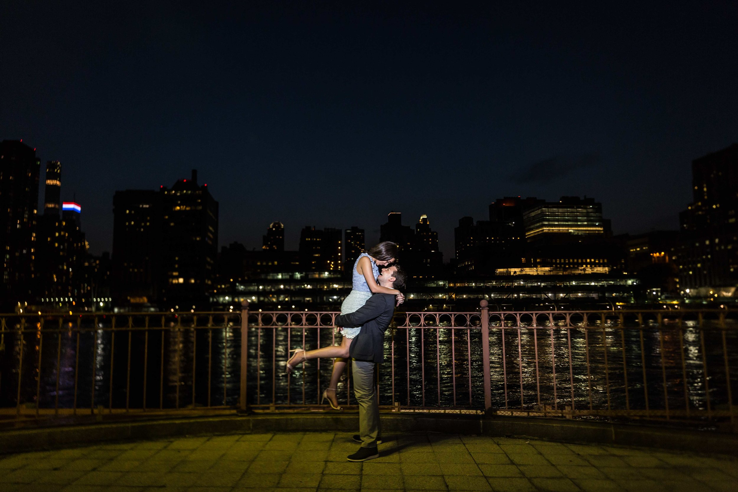 NYC Wedding Photographer Roosevelt Island Engagement Photos Photos Shoot Session