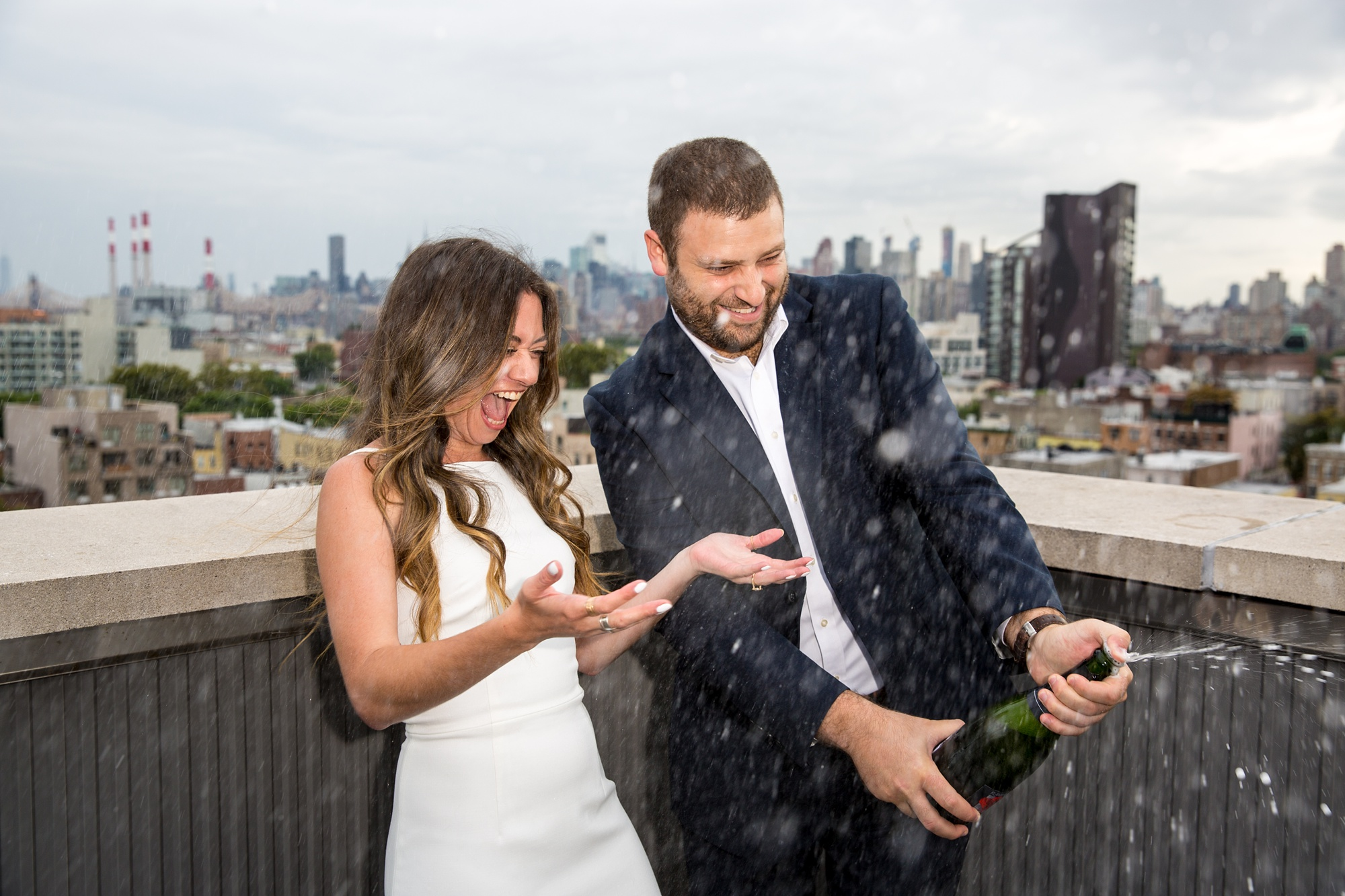 Astoria NYC Engagement Photo Session Shoot Wedding