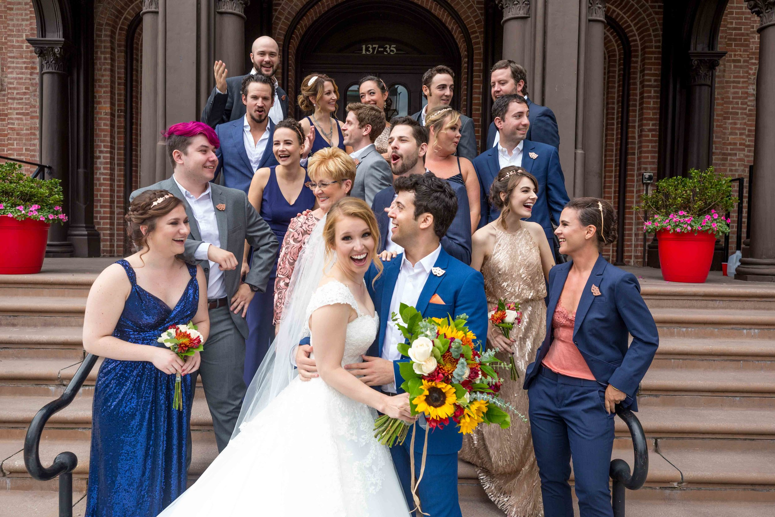 Flushing Town Hall Musical Theatre Wedding Queens NYC Photographer-42.jpg