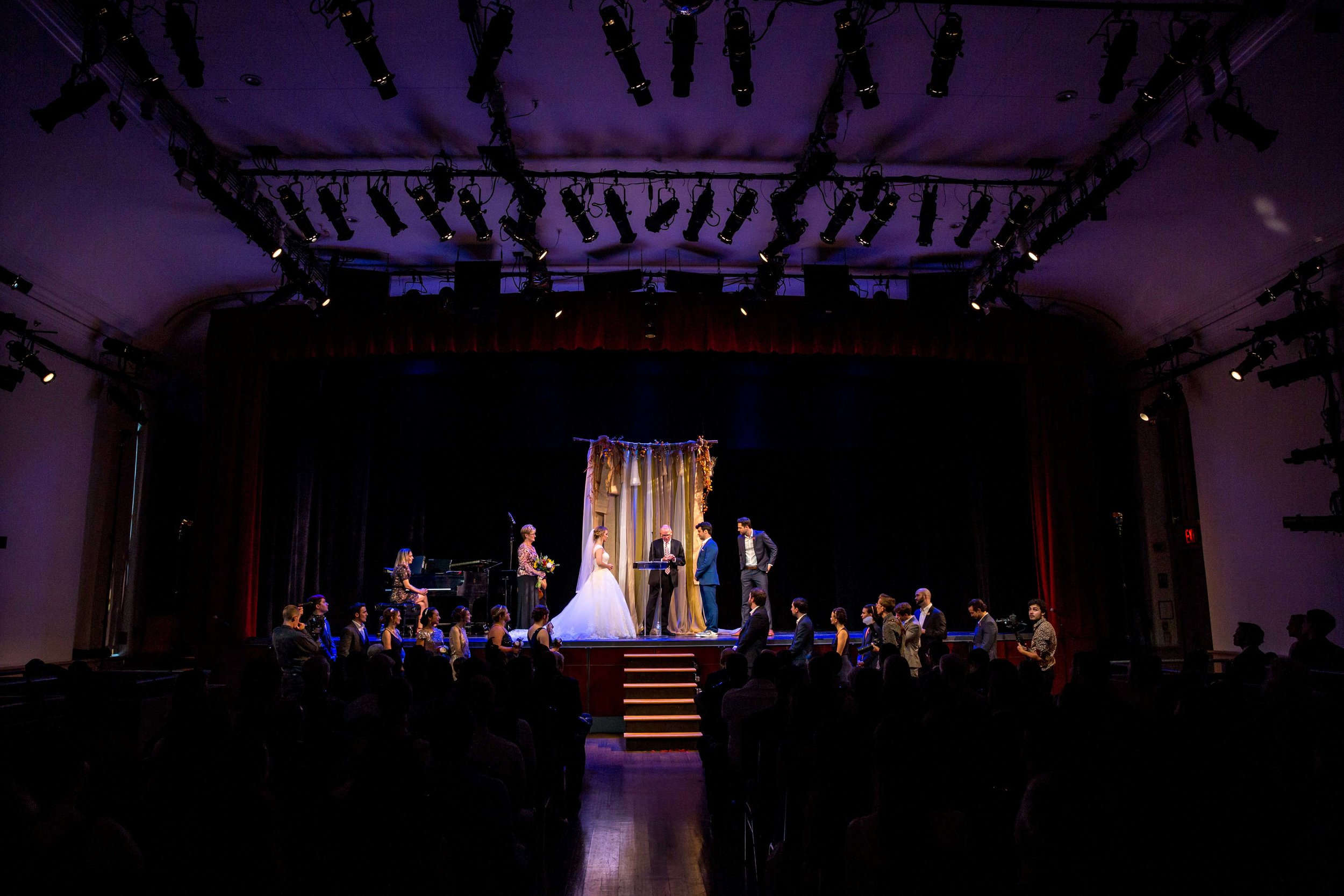 Flushing Town Hall Musical Theatre Wedding Queens NYC Photographer-66.jpg