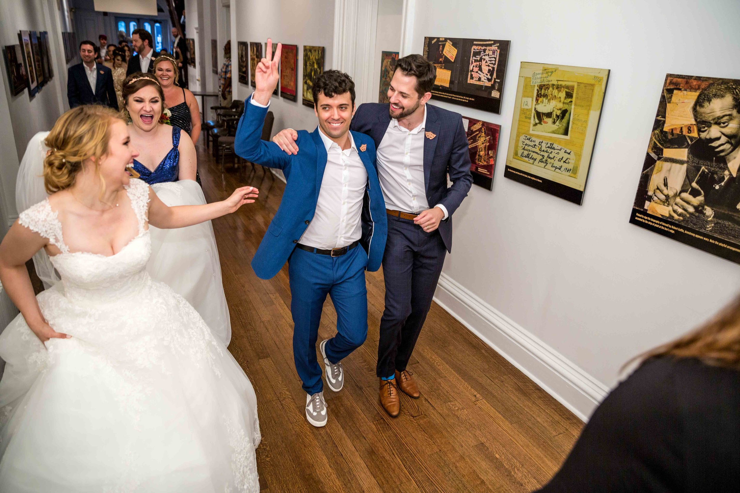 Flushing Town Hall Musical Theatre Wedding Queens NYC Photographer-76.jpg