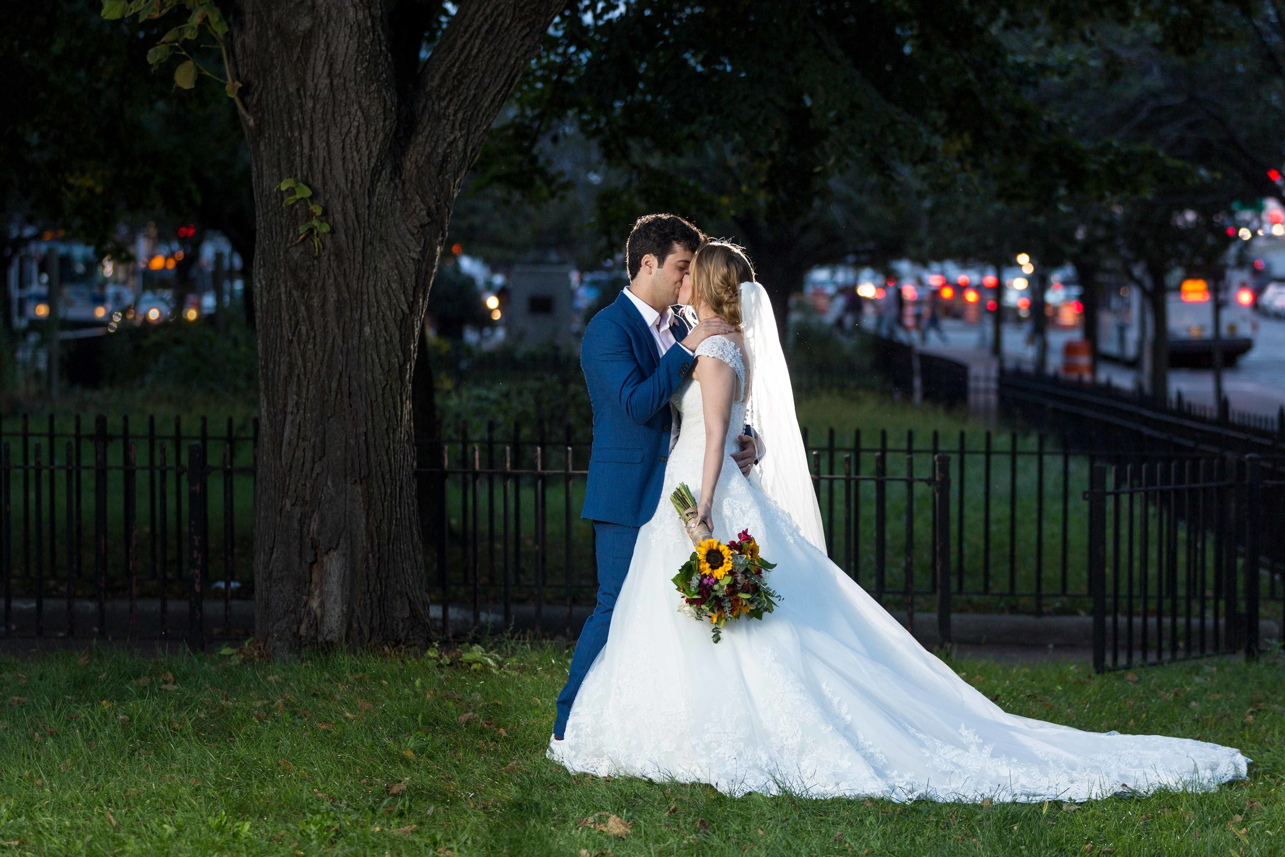 Flushing Town Hall Musical Theatre Wedding Queens NYC Photographer-78.jpg