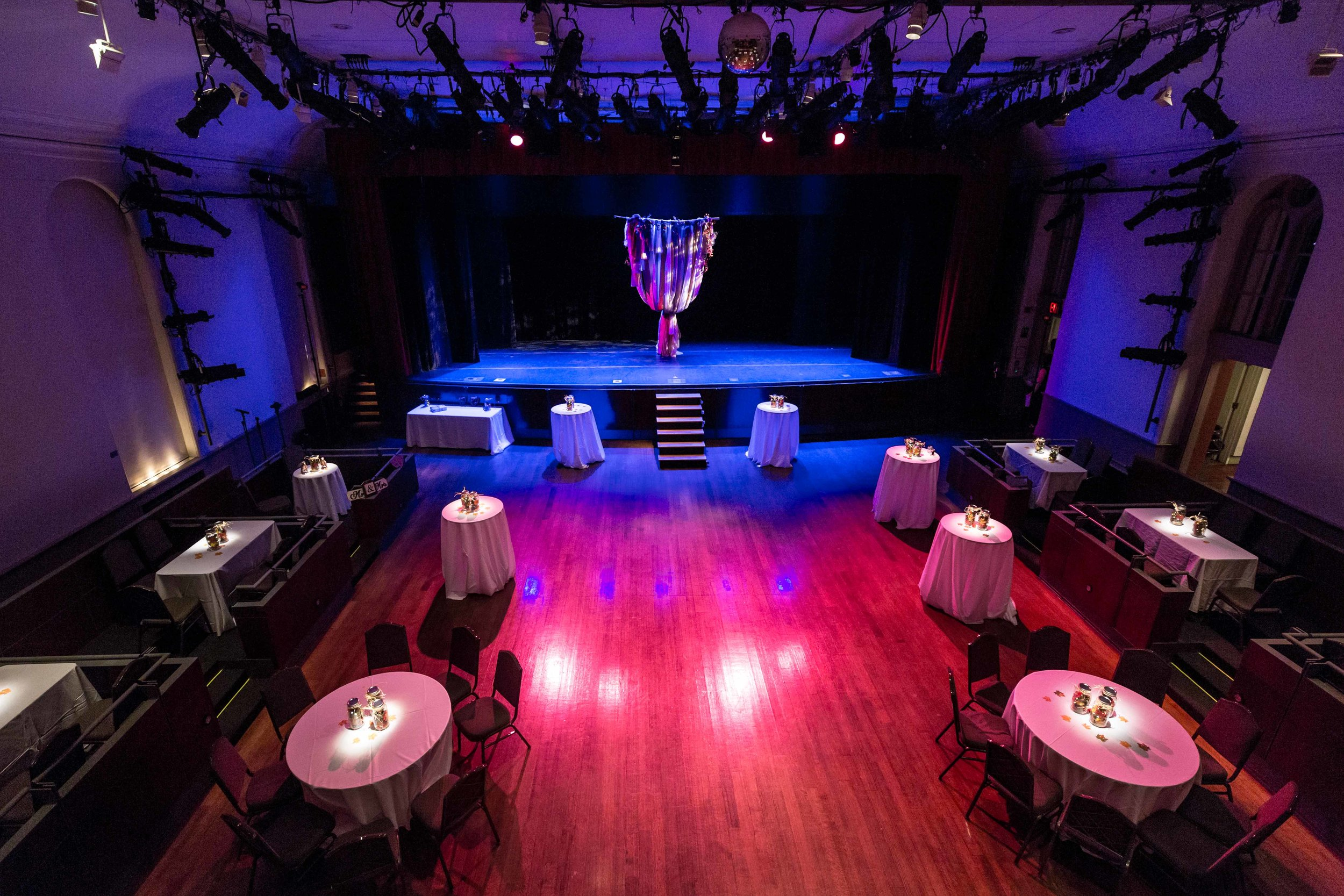 Flushing Town Hall Musical Theatre Wedding Queens NYC Photographer-88.jpg