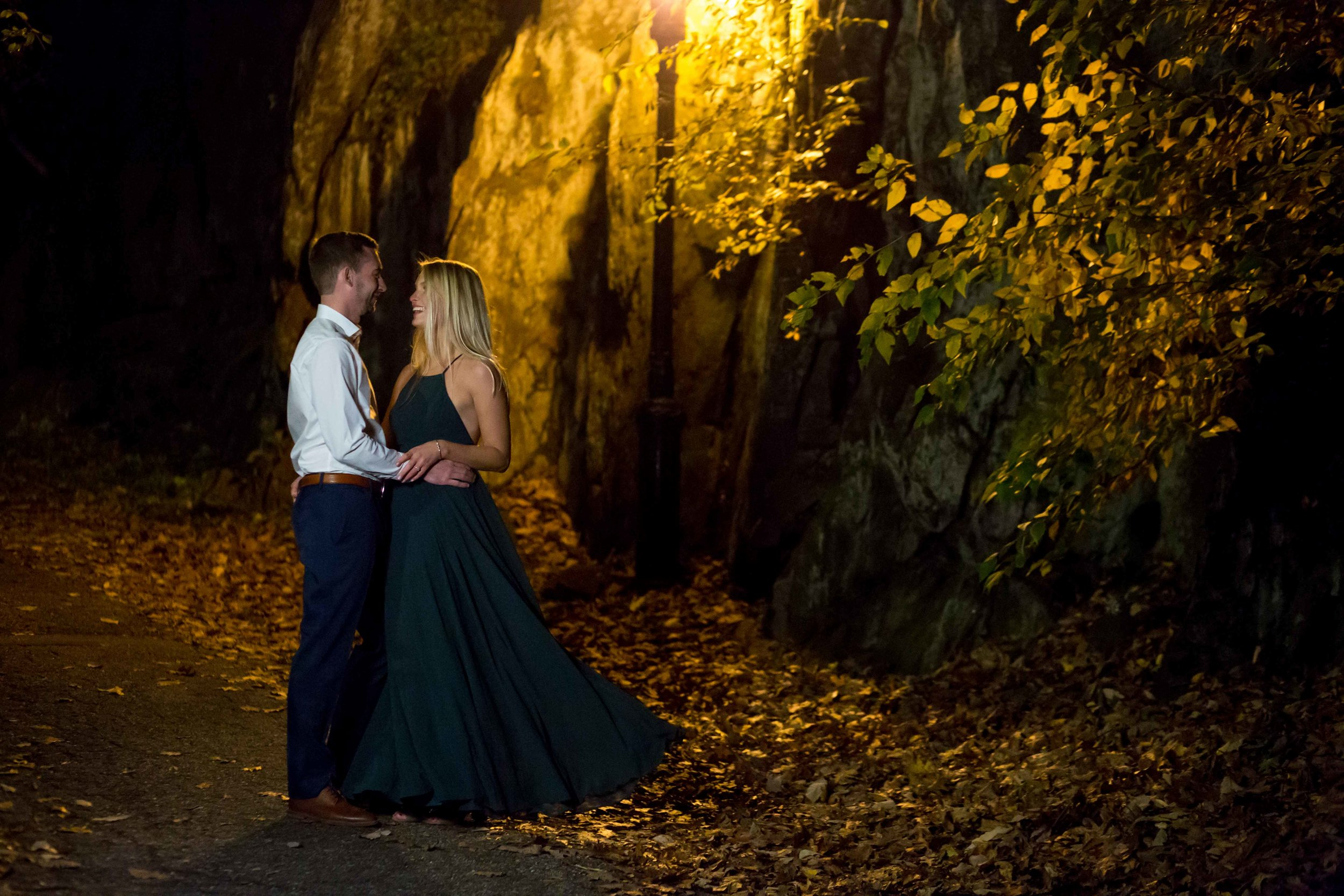 Fort Tryon Park Engagement Photo Shoot Session NYC Photographer