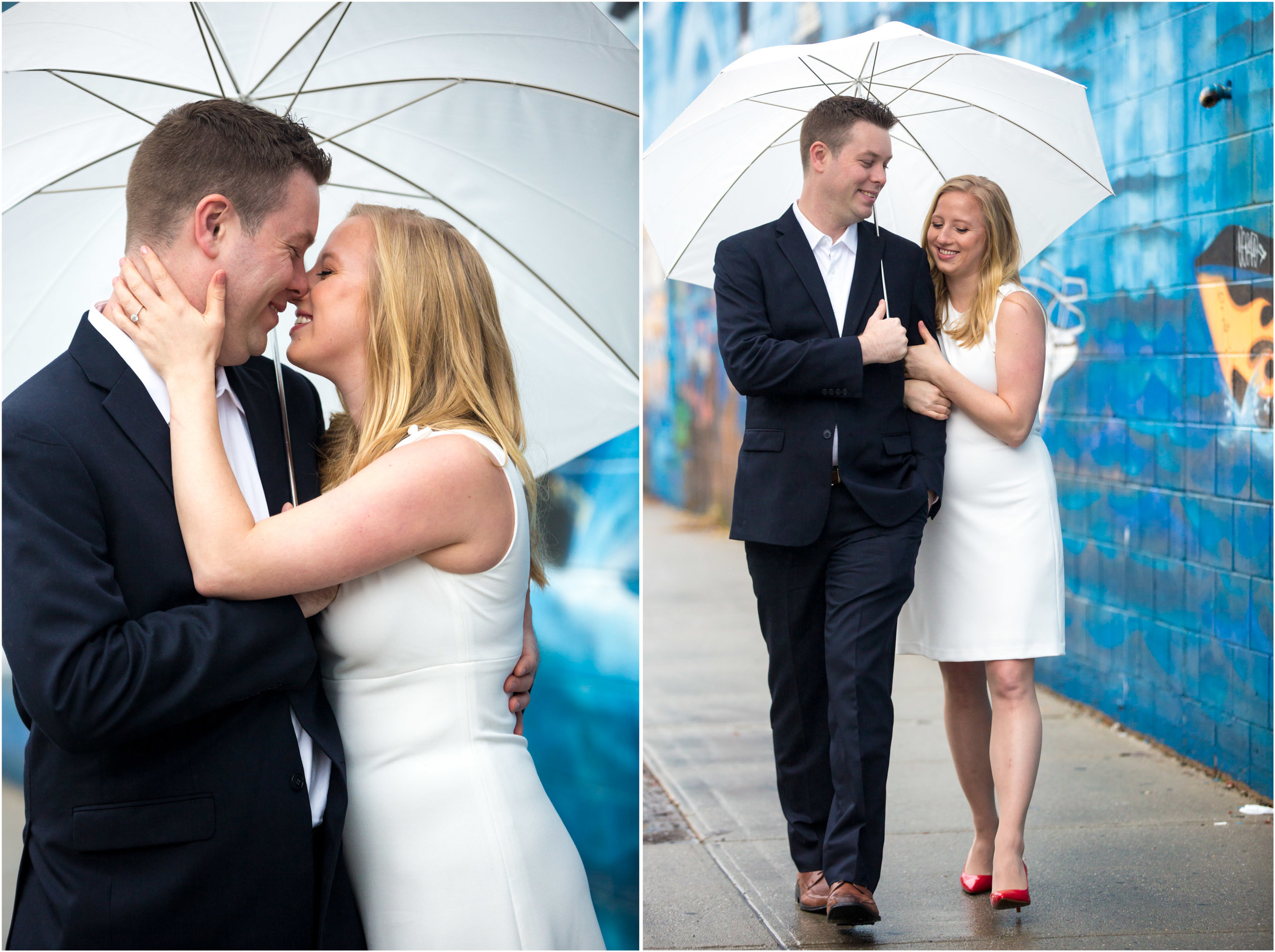 Williamsburg Engagement Shoot Brooklyn NYC Wedding Photographer Photo Shoot Session