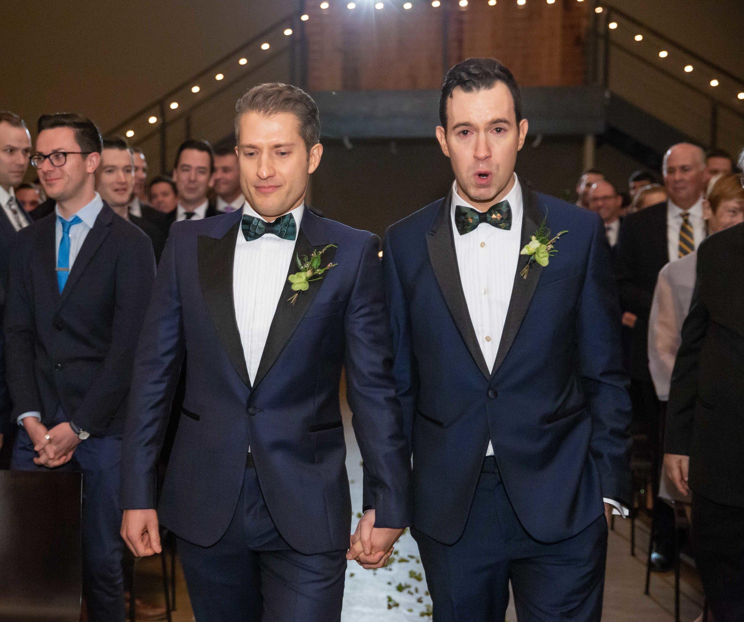 The Roundhouse Wedding - Beacon, NY - Douglas and Jason