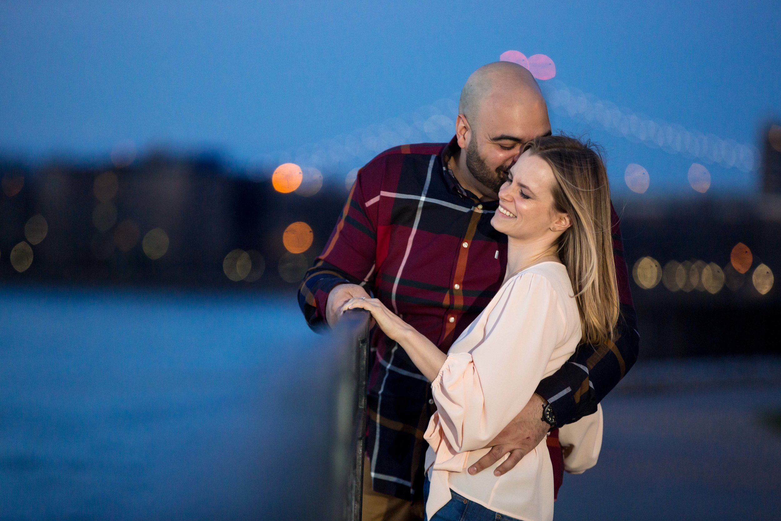 Astoria Engagement Photo Session Shoot Rainey Park Wedding Photographer Queens NYC New York City