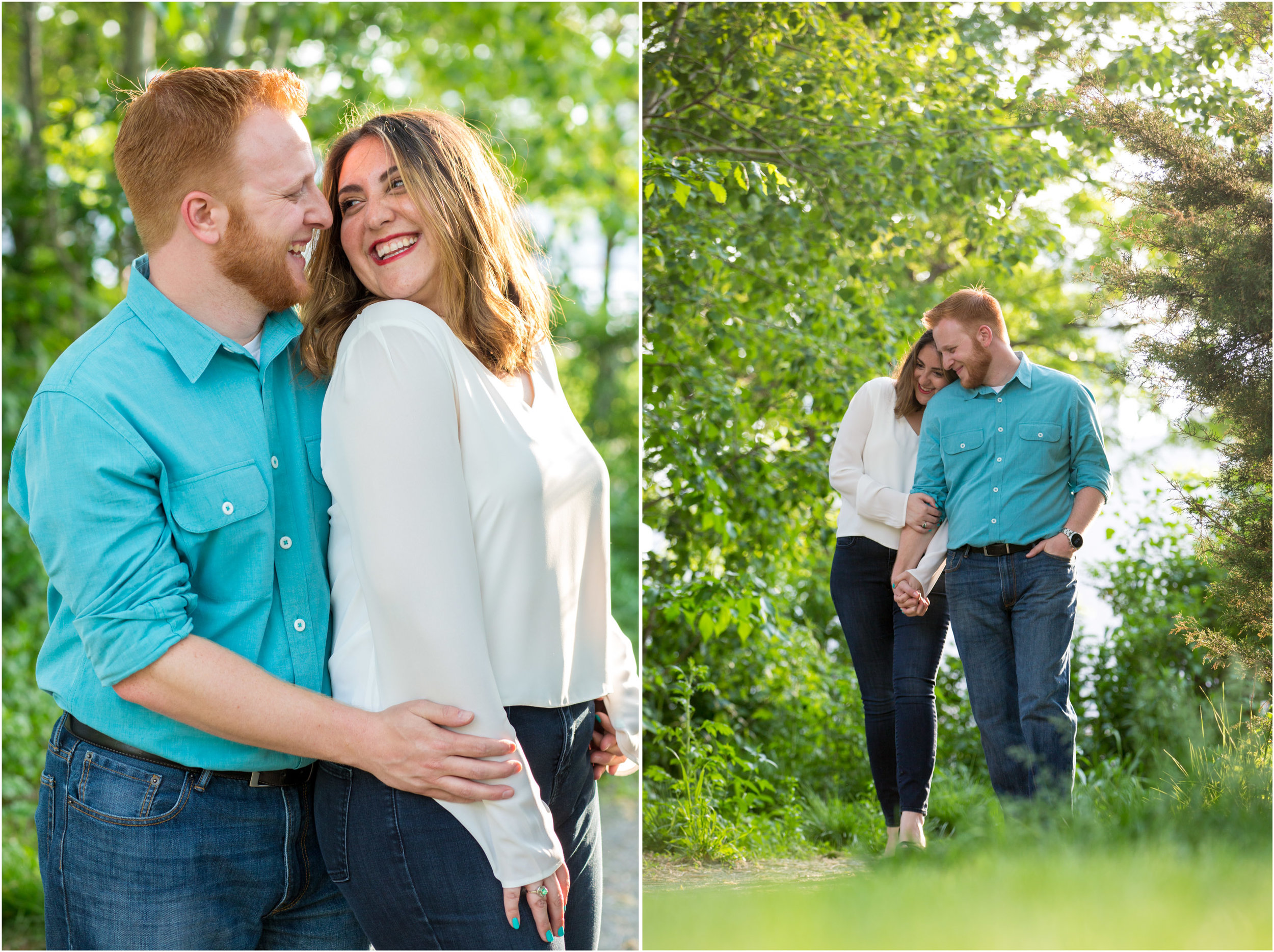 NYC Engagement Photo Session Shoot Gantry Plaza State Park Photographer New York City-18.jpg