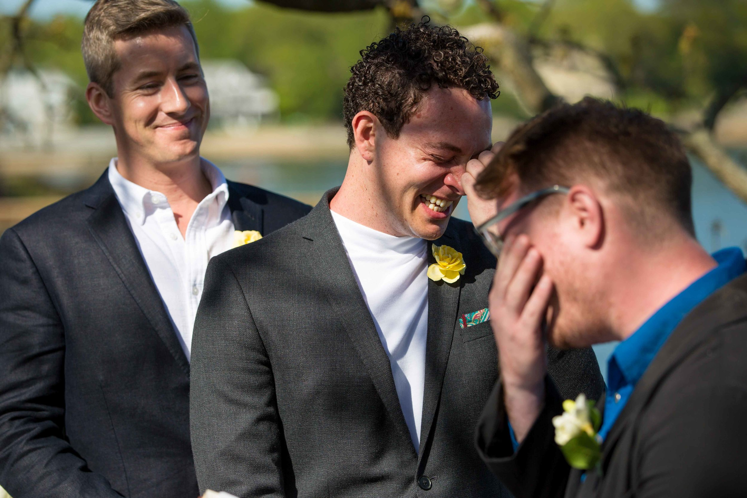 NYC Same Sex Wedding Photographer New York Gay Elopement