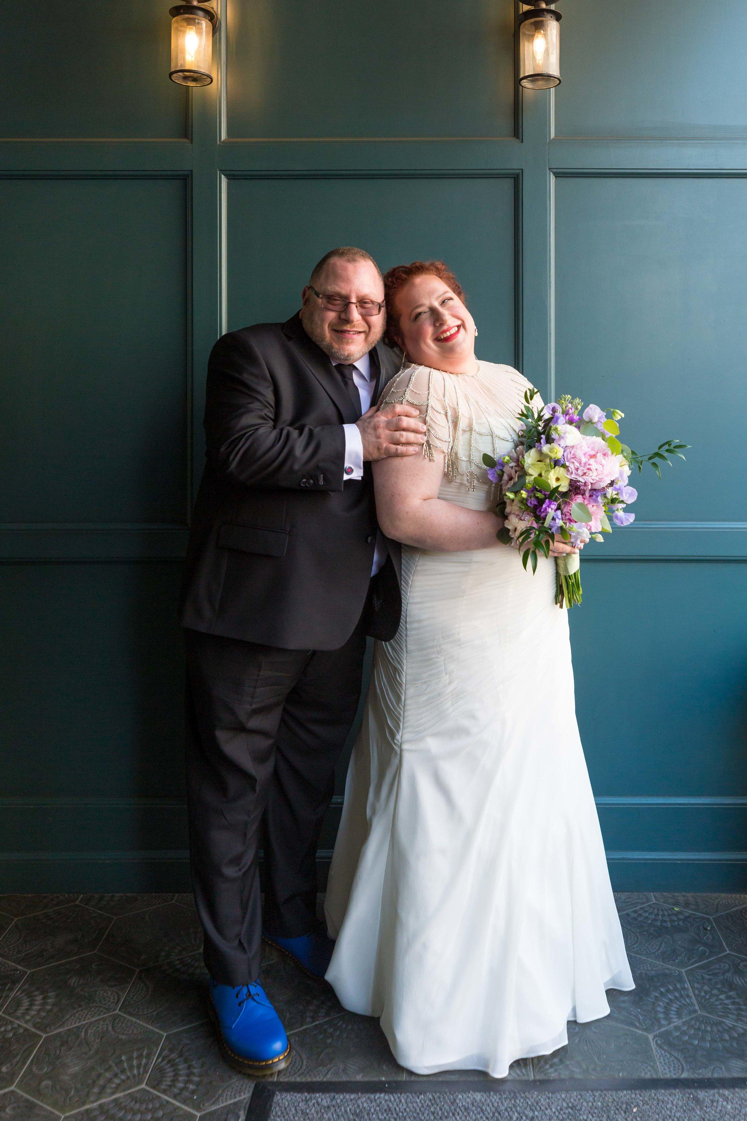 New York City Wedding Photographer NYC Manny Cantor Center Jewish