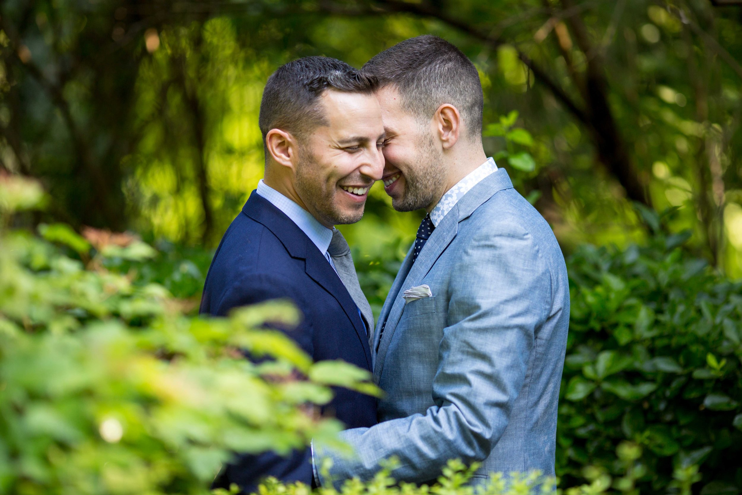 NYC Wedding Photographer Fort Tryon Park Engagement Photo Shoot Session Gay Same Sex Marriage New York-5.jpg