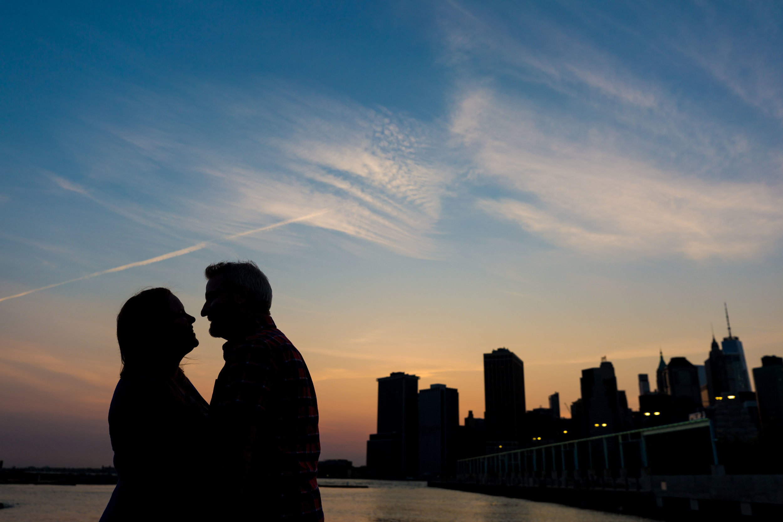 Brooklyn Engagement Photographer New York City Wedding Photo Session Shoot The Green Building NYC