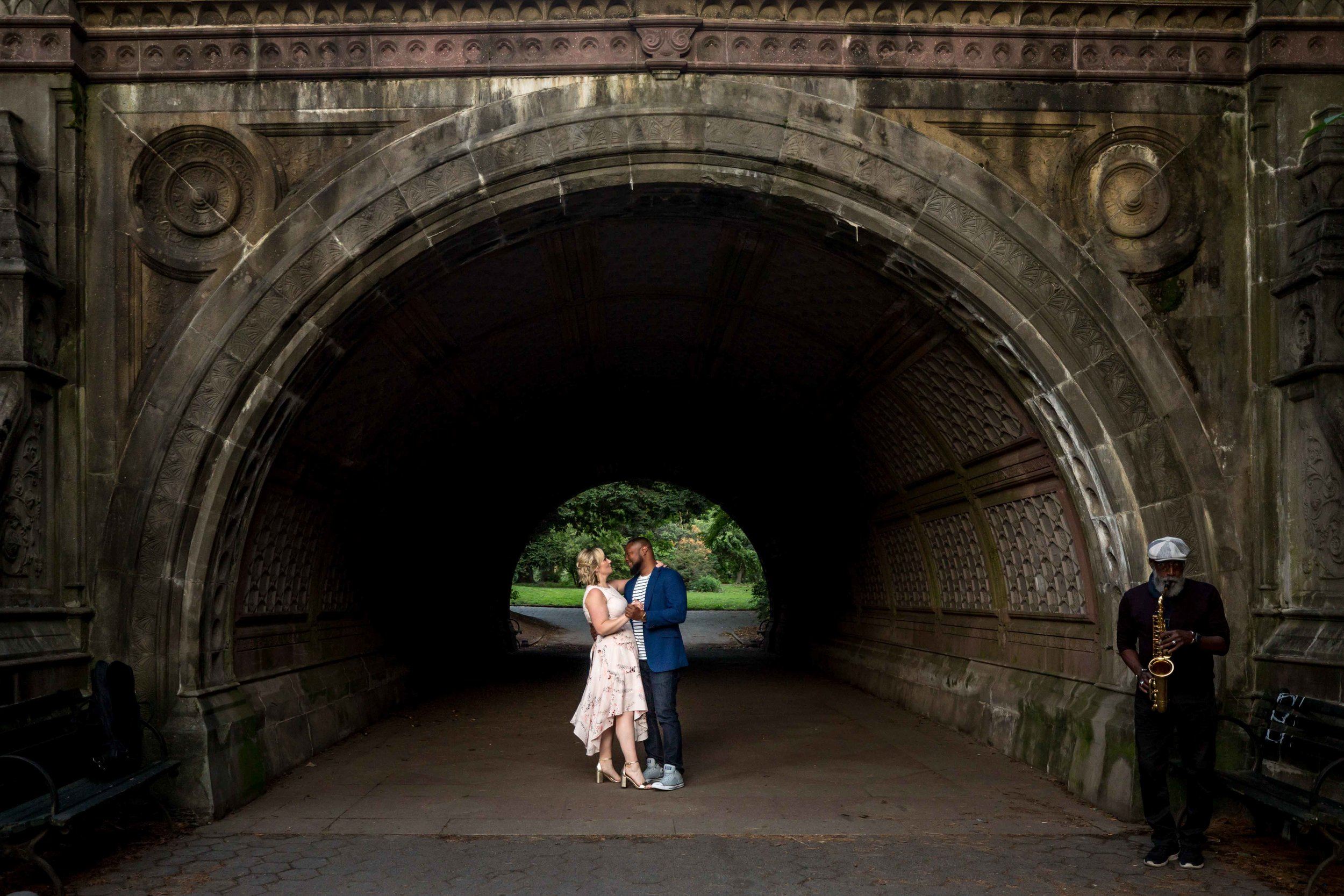 Prospect Park Engagement Photo Shoot Brooklyn NYC New York Wedding Photographer