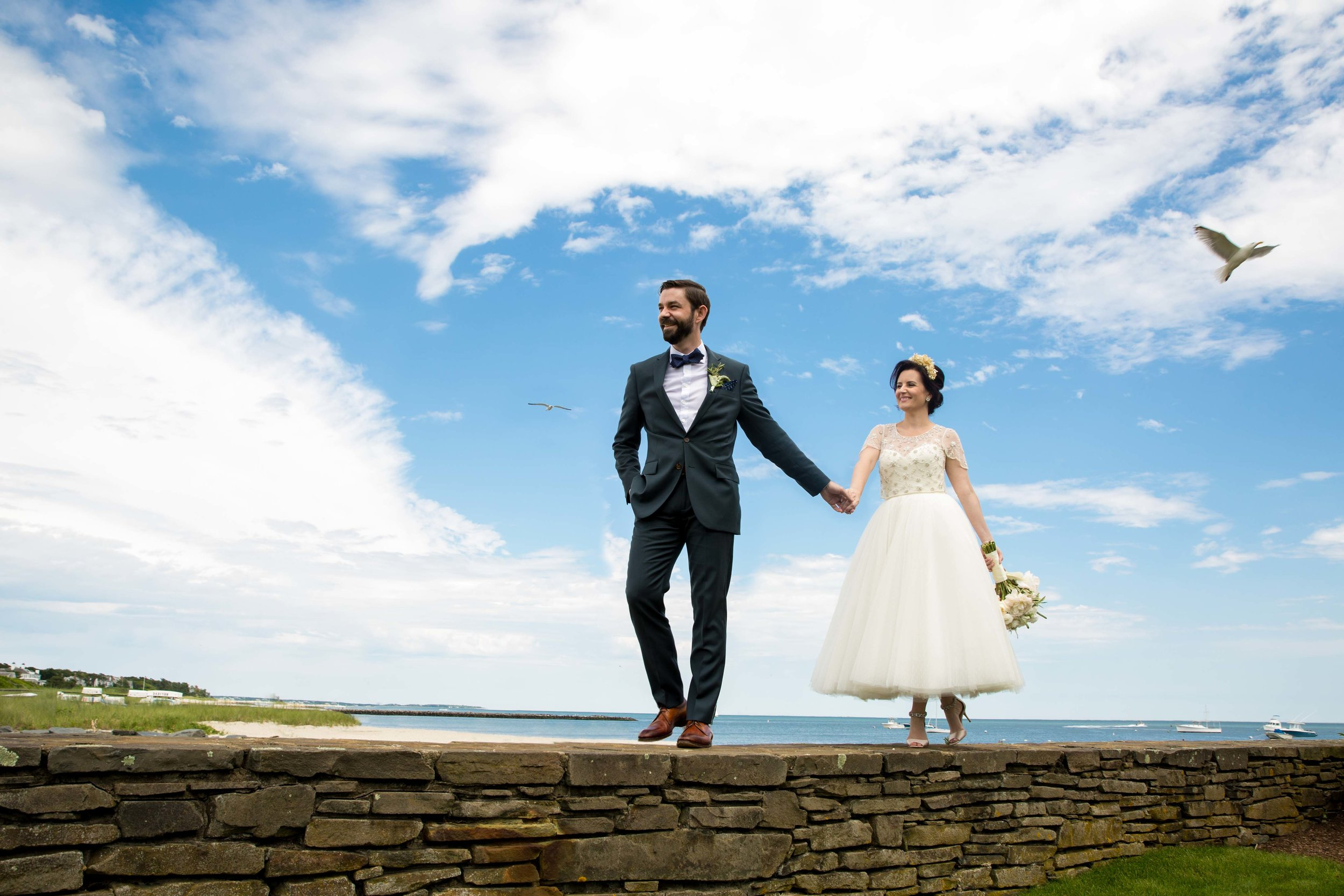 Whychmere Beach Club Wedding Cape Cod Photographer