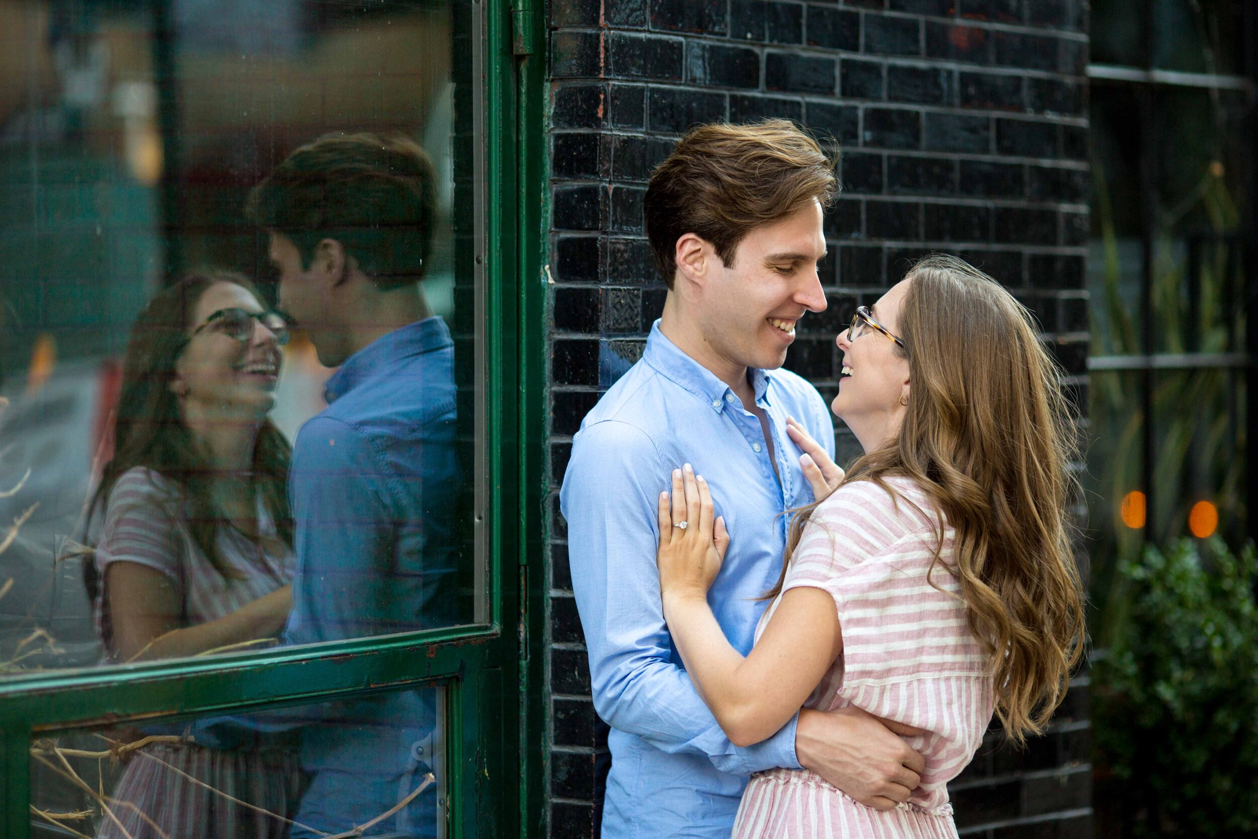 NYC Engagement Photographer New York City Wedding Photo Session Shoot West Village