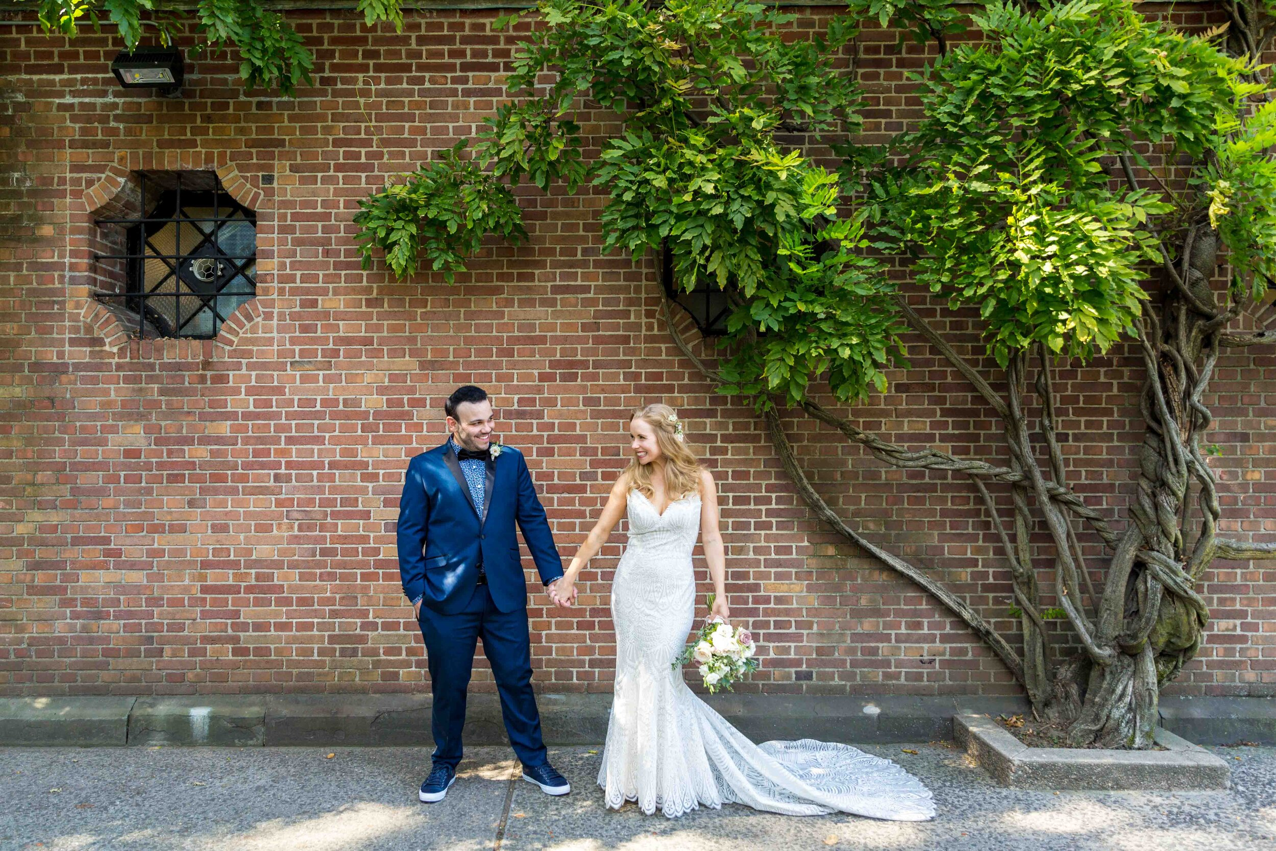 Central Park Conservatory Garden Wedding NYC New York City Photographer