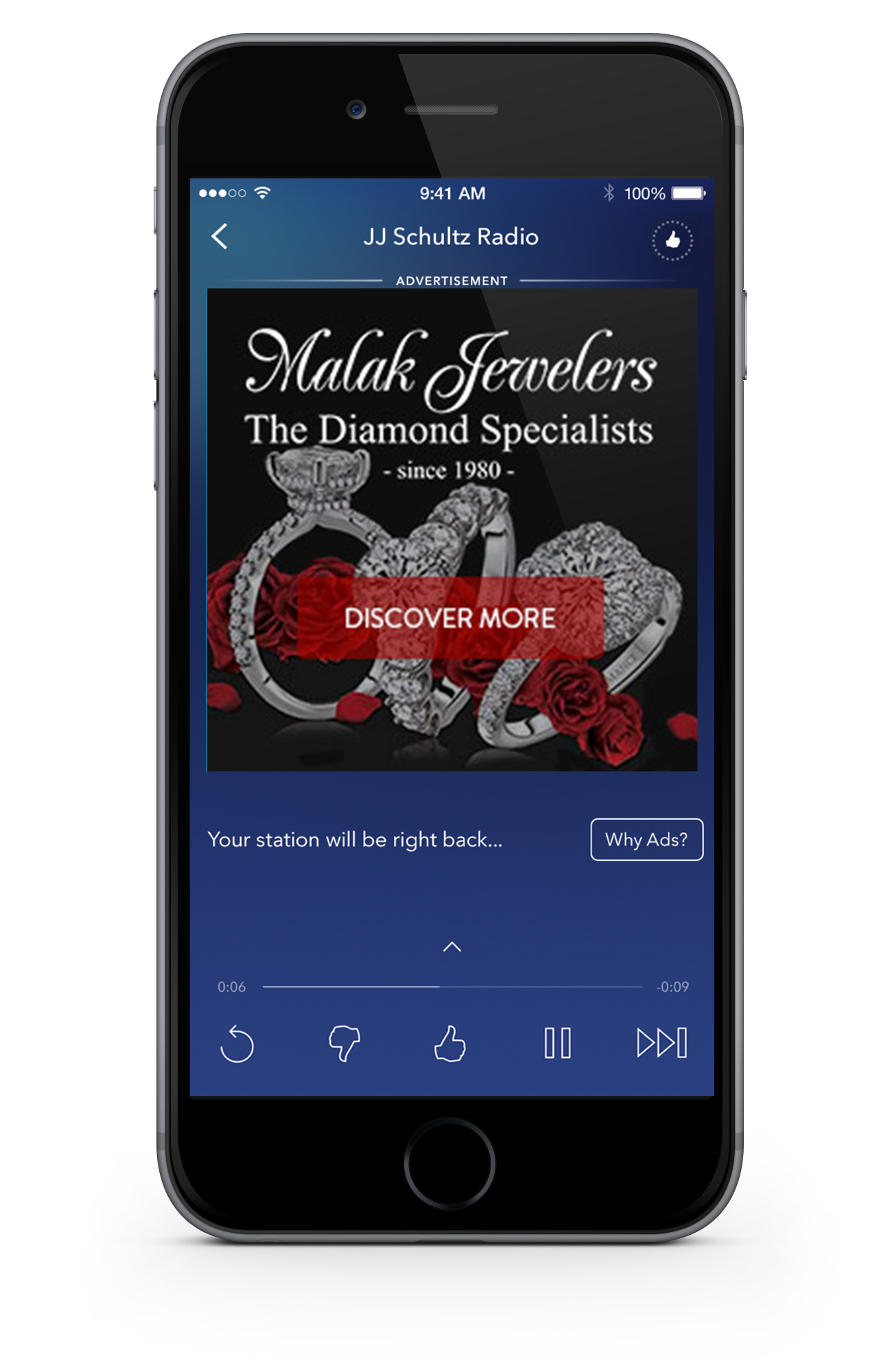 Malak Jewelers - Malak Jewelers was looking to reach millennials on the go. Both ads depict scenarios through dialogue, one of my favorite methods: the first audio ad features a dialogue between two guy buds, while the second ad illustrates a couple having dinner at home.