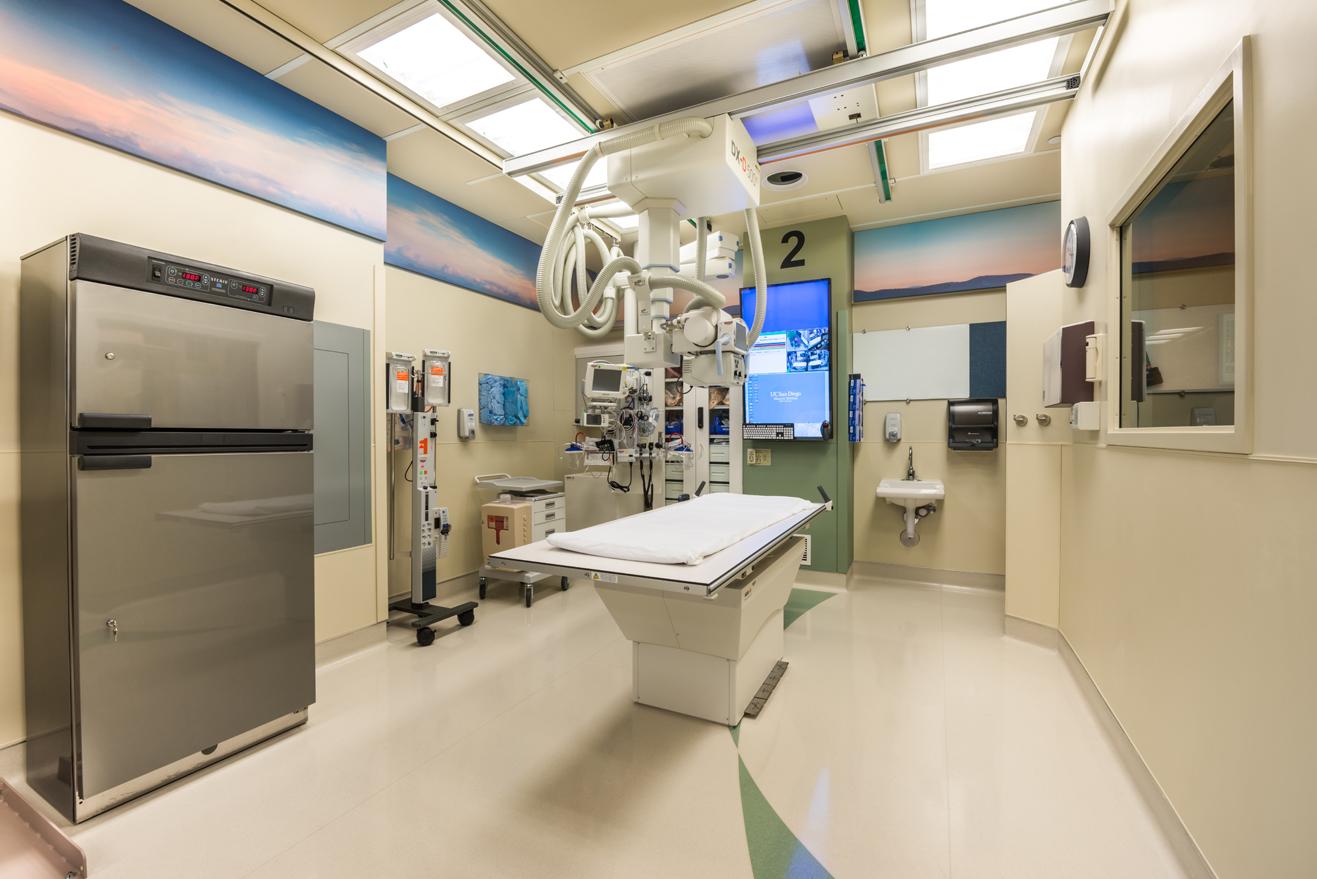 UCSD Trauma room