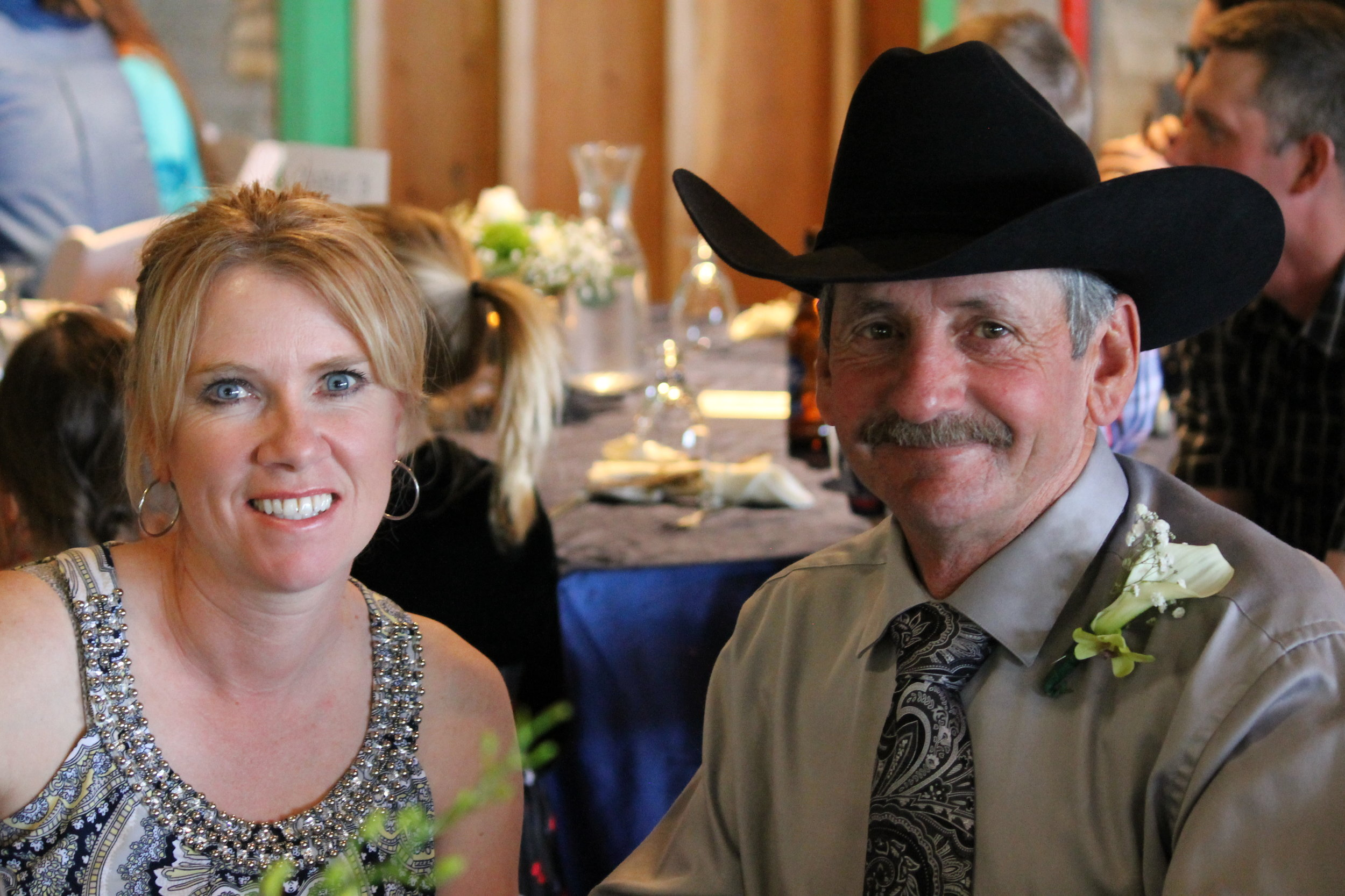 Ellen and Greg Frick of Sabre Quarter Horse Ranch in Whitewood, SK.