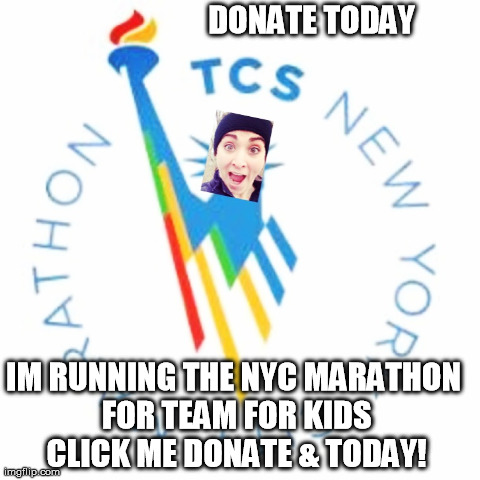 I'm Raising Money For Team For Kids, Click Here to Donate Today!