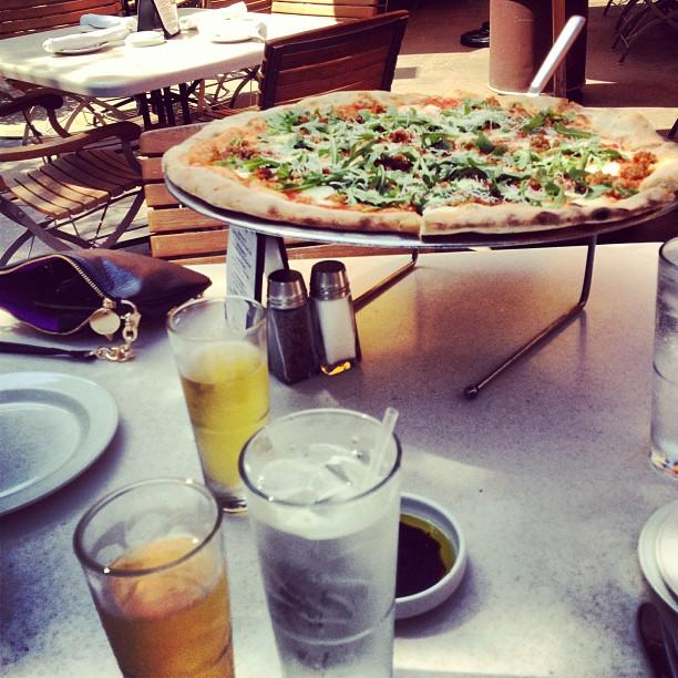 Boom pizza at Naples.