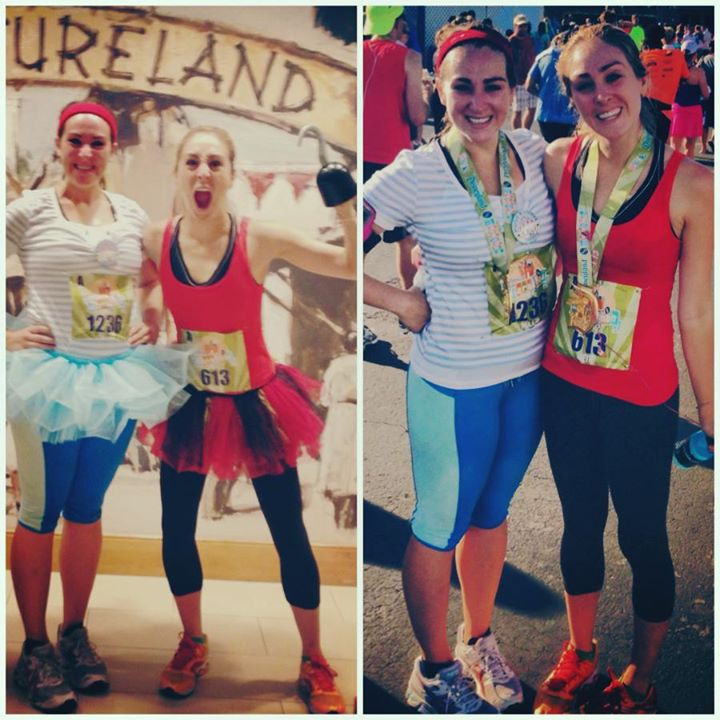 We ditched the TuTus and hook pretty early on...