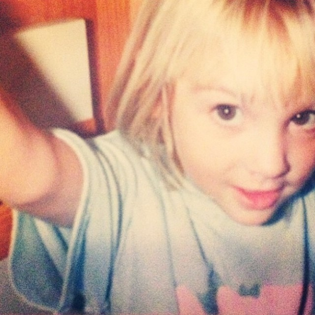 Taking selfies before they were cool.