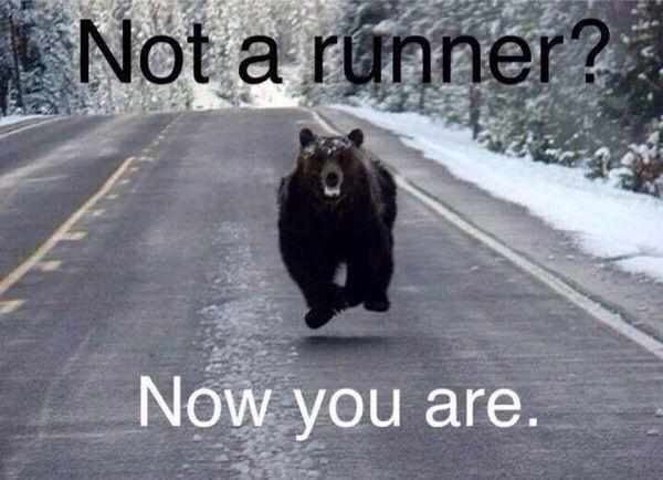 not a runner