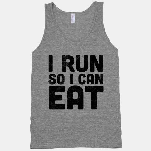 run to eat