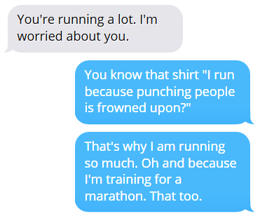 21 Things Non-Runners Say to Runners