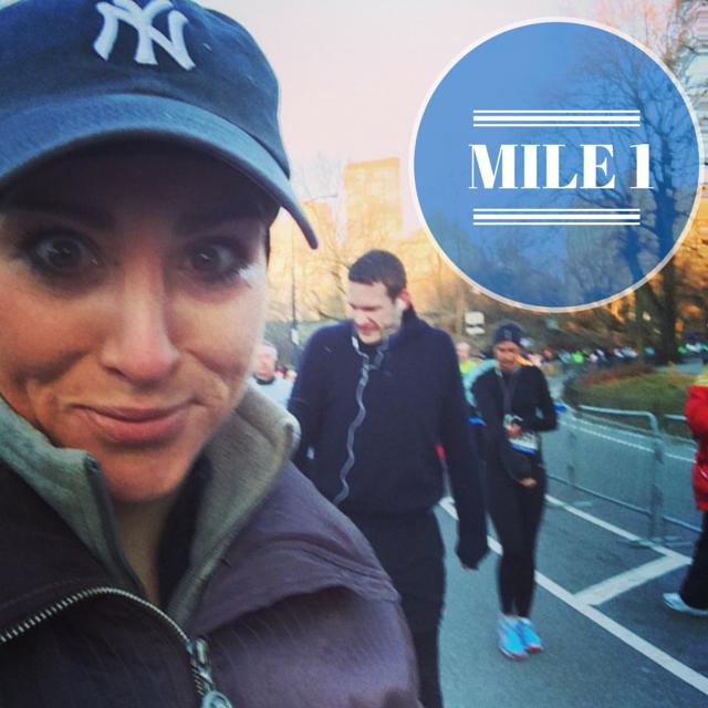 NYC HALF Mile 1