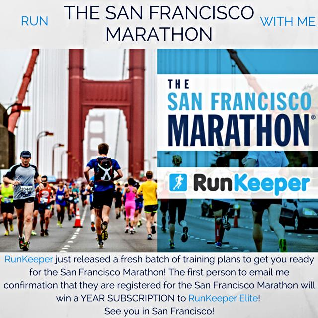 The San Francisco Marathon RunKeeper Elite Giveaway