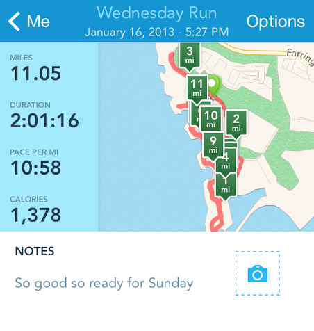 My first 2 hour run