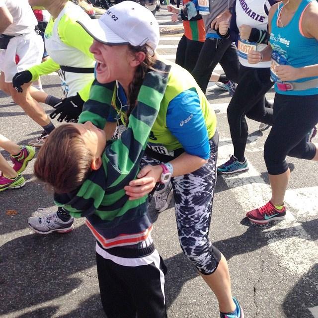 Kelly and Dublin NYC Marathon