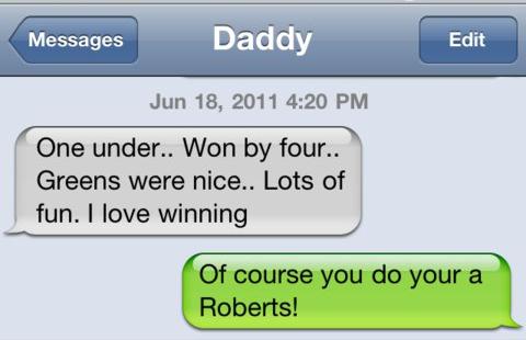 He Loves Winning