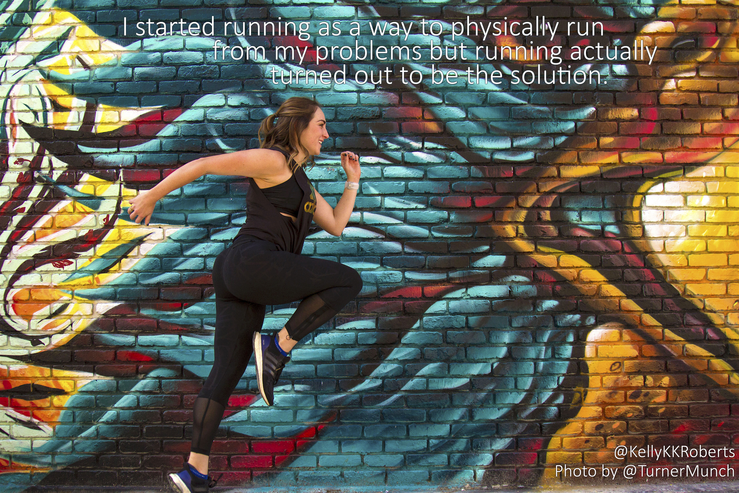 How running from my problems helped me find my purpose