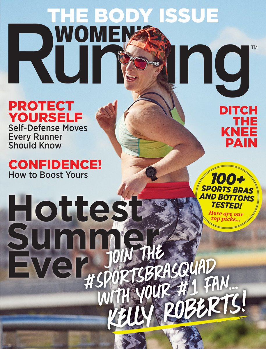 Kelly Roberts Women's Running Magazine