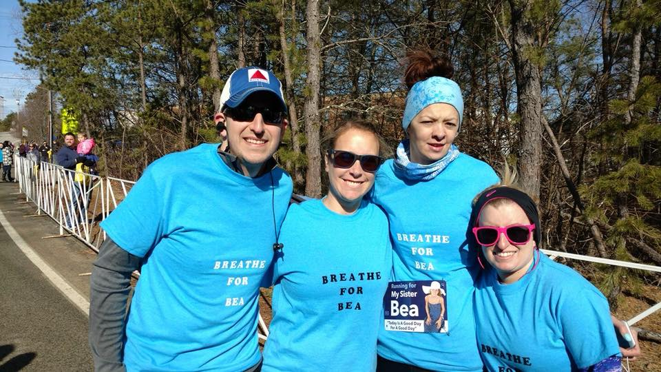 My first ever 5k, with friends who would later be known as the BeaStrong Runners.