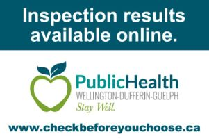 Link to our Public Health inspection records