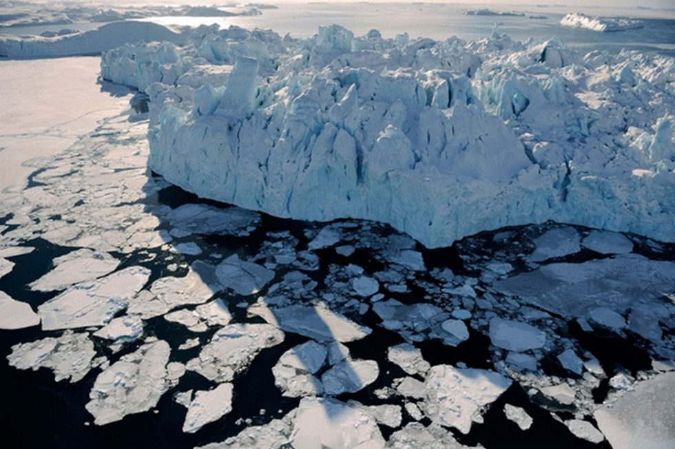 Melting Ice Shelves and Glaciers