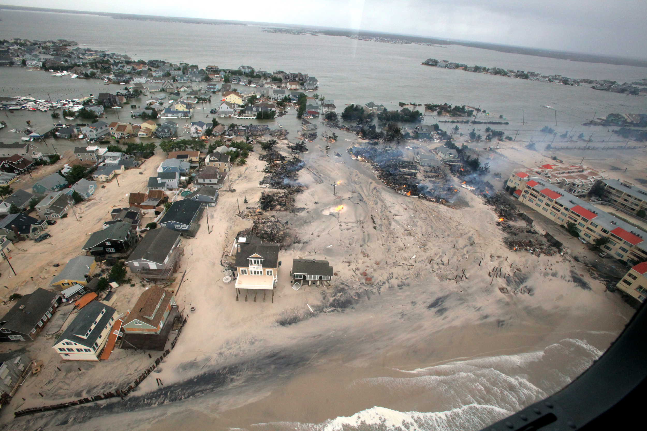 Rising Sea Levels Cause Damage to Infrastructure