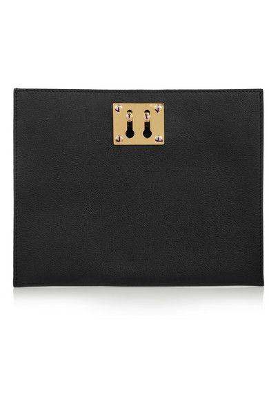 sophie hulme leather pouch