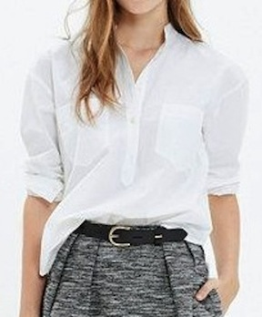 madewell, the perfect tunic, $79.50