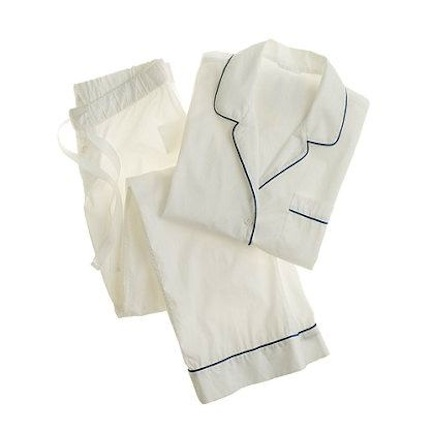 j. crew, vintage pajama set, $95