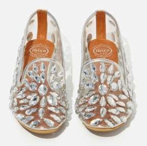 jeffrey campbell, jeweled loafers, $195 (also in black)