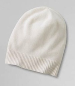 lands end luxe cashmere hat, $44.99